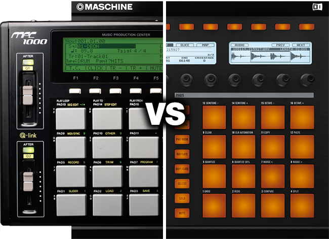 NI Maschine VS the Akai MPC 1000